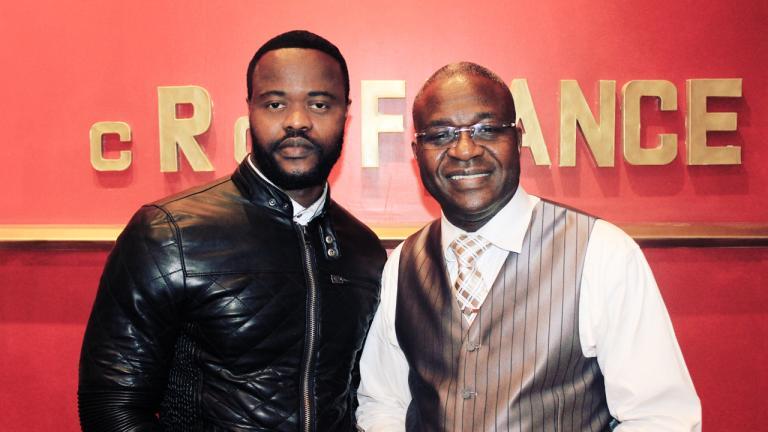 Serge Best & Pasteur David Ngoma