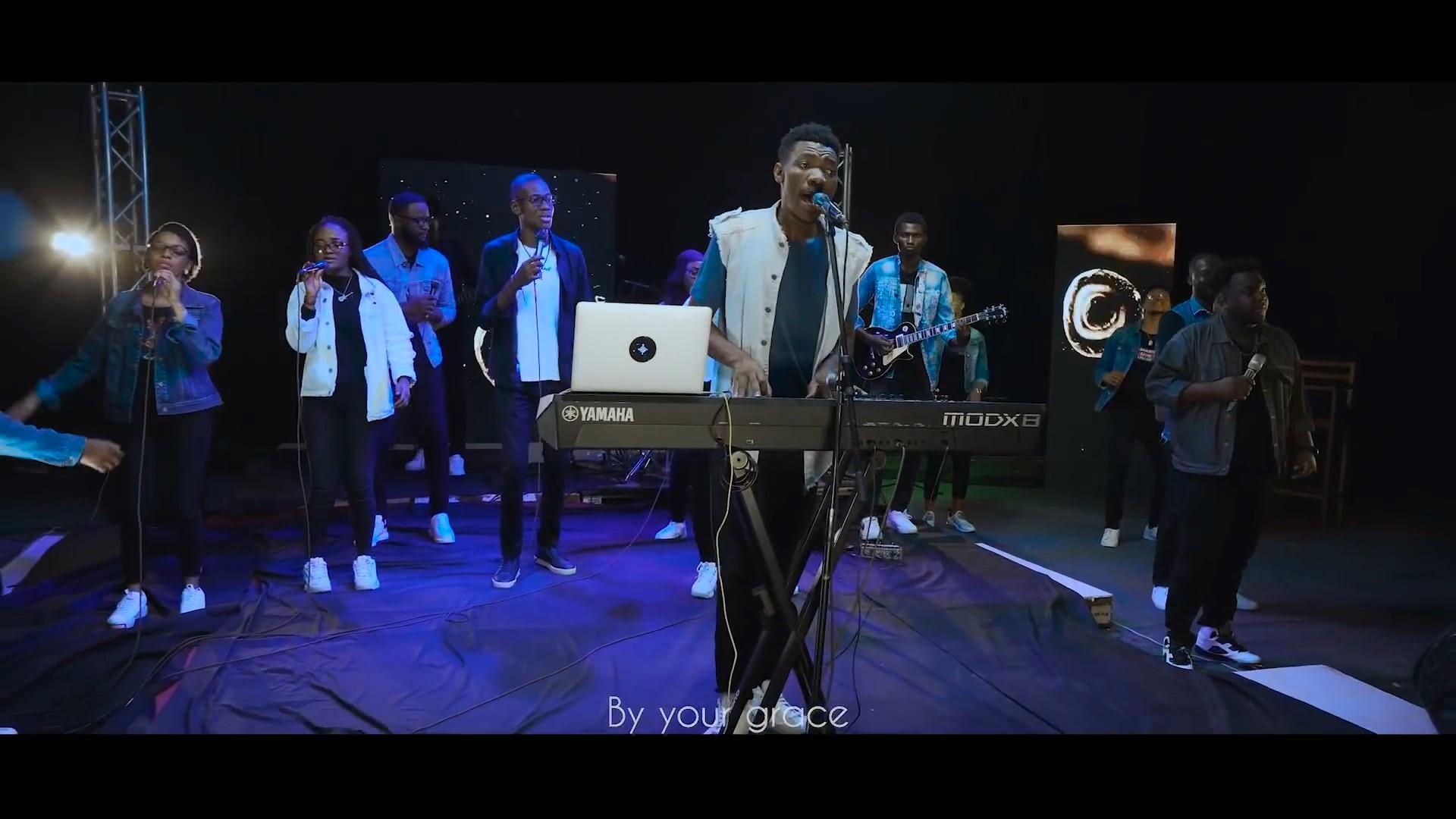 Jowell bombay feat hope kinshasa jesus est seigneur live 2020 mp4 snapshot 16 03 671